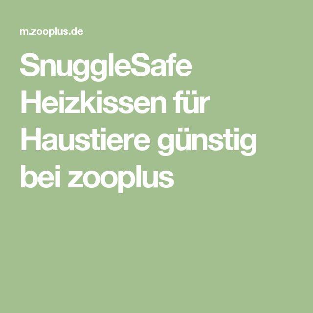 Perfekt SnuggleSafe Heizkissen Für Haustiere Günstig Bei Zooplus