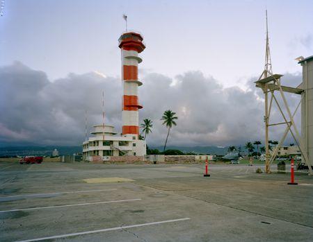 Air Traffic Control Tower, Luke Field, Pearl Harbour, Hawaii, 07/09/2011, 6.28 (now)