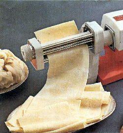 Paso a paso el amasado con máquina de pasta familiar