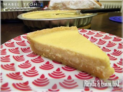 Ricotta & lemon tart | Sweet treats | Pinterest