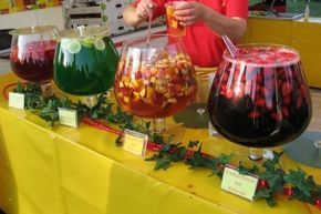 Schlammbowle kann auch alkoholfrei zubereitet werden.
