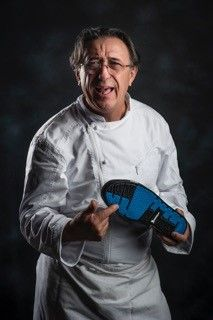 Patrick Jeffroy and the GT1pro Magister #shoes #chefwear #chef #chefs #chauddevant