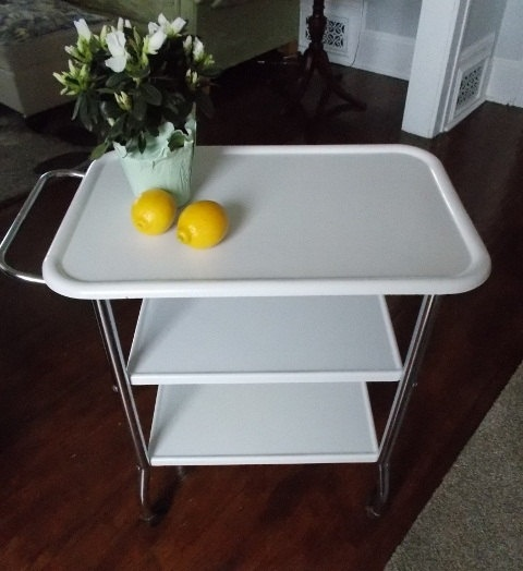 Cosco Chippy Red Metal Kitchen Cart Movable Painted Vintage: 138 Best Kitchen Cart Images On Pinterest
