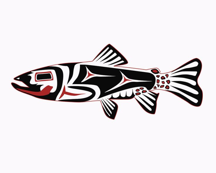 fish art | Haida Trout Digital Art by Rob Tullis - Haida Trout Fine Art Prints ...