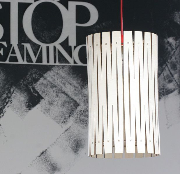 Noto ażurowa  ekologiczna lampa - dekor8 - Lampy wiszące