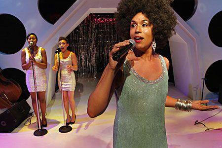 Daniel Alexander Jones is Jomama Jones in Radiate Live! at Pillsbury House Theatre