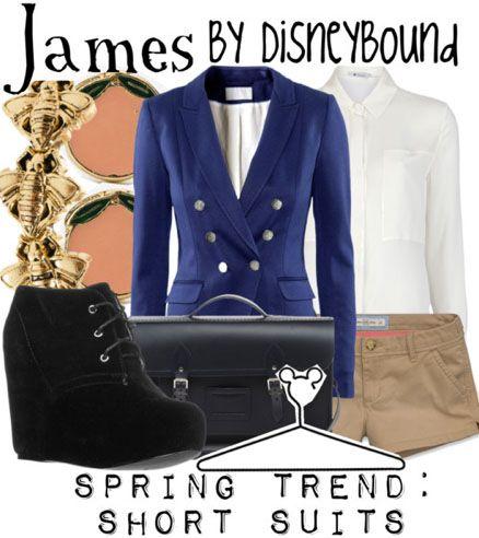 disneybound - James (of Giant Peach fame)