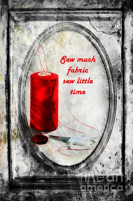 """Sew Much"" Artprint for sale - Randi Grace Nilsberg"