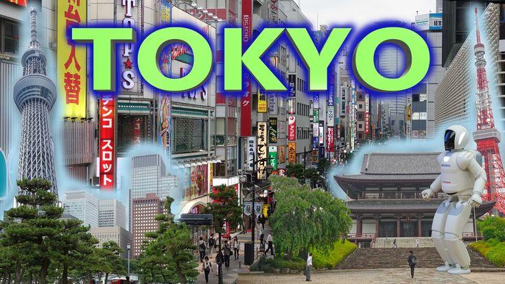 TOKYO - JAPAN 2016 4K - YouTube