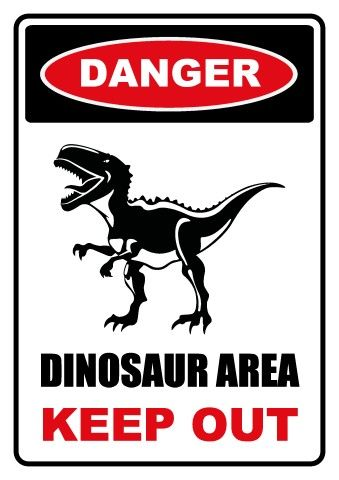 Image result for dinos  crossing sign pintrest