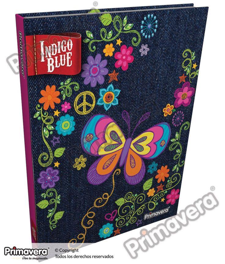 Cuaderno Cosido 5 y 7 Materias Indigo Blue http://escolar.papelesprimavera.com/product/cuaderno-cosido-5-y-7-materias-indigo-blue-primavera-6/
