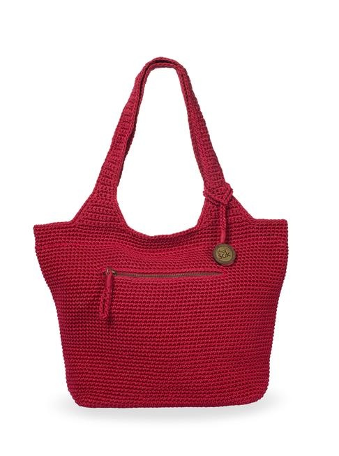 Whether it's your first Sak crochet bag or your twentieth, our classic small shopper fits everything you need and is soft and durable.