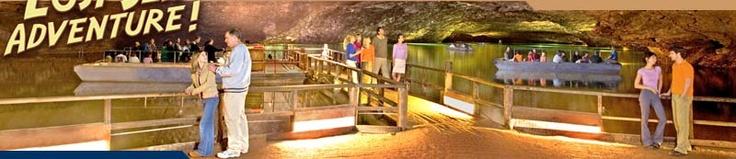 Lost Sea Caverns- an underground lake!!!