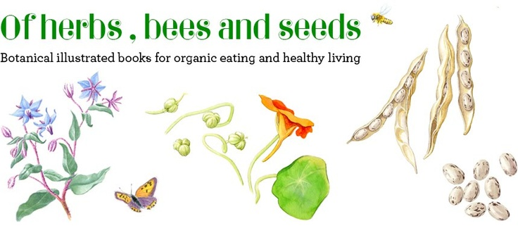 Seasonal children books on seed saving, botany, permaculture, organic vegetables, herbs and recipies for a healthy and sustainable living.