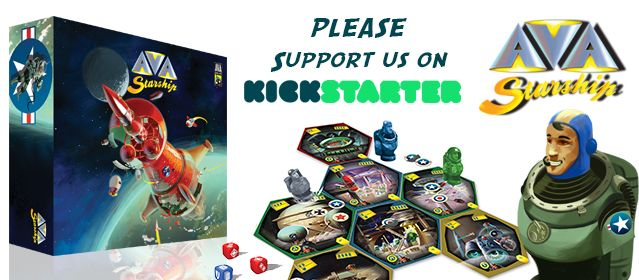 Crowdfunding Campaign Launched For New Starship Board Game – Ava Starship