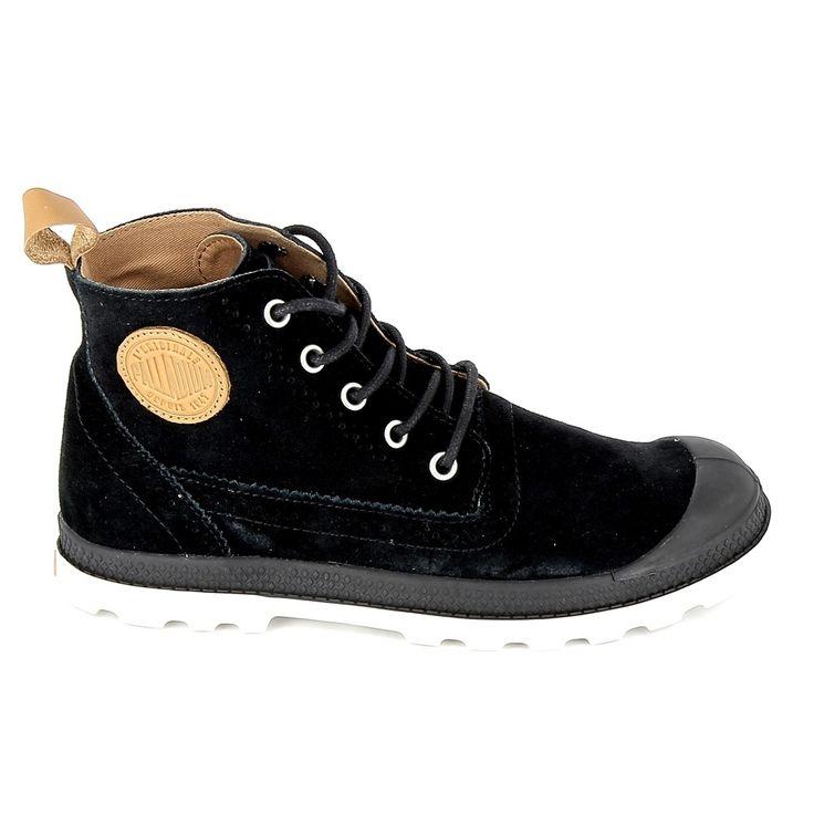 Palladium LONDON MID - Boots à talons gris foncé olyaH