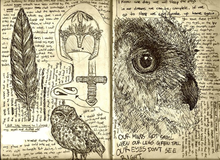 Love it when images and words come together, even when I can't read it! It seems that each deepens the understanding of the other. Leonardo daVinci sketchbook images