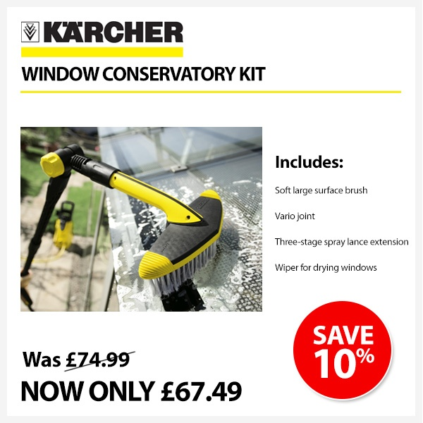 #specialoffer on this Karcher kit!