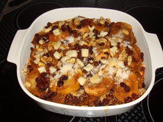 I want some CAPIROTADA(Mexican bread pudding)