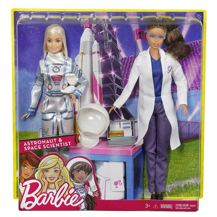 astronaut and space scientist barbie -#main