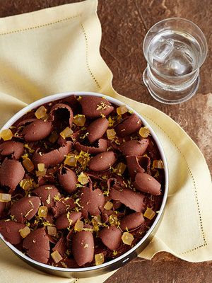 【ELLE a table】レモンとしょうが風味のムース オ ショコラレシピ|エル・オンライン