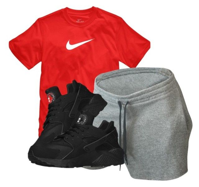 """""""Untitled #701"""" by zayani ❤ liked on Polyvore featuring NIKE"""