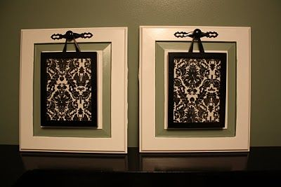 Turn Old Cabinet Doors Into Pretty Art For The Wall