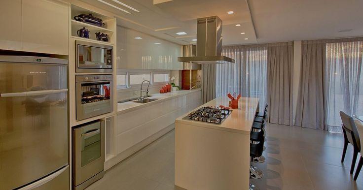 Cozinha gourmet Branca