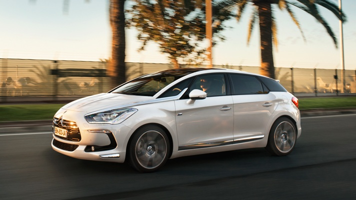 Citroen DS5 review by Topgear
