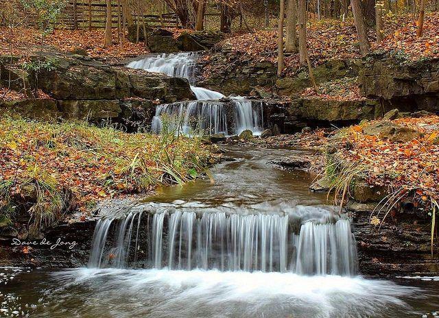 Mineral Springs Falls - Ancaster, Ontario