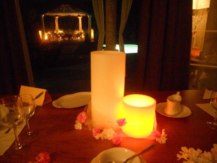 En una cena rom ntica las velas son parte imprescindible - Decoracion cena romantica ...