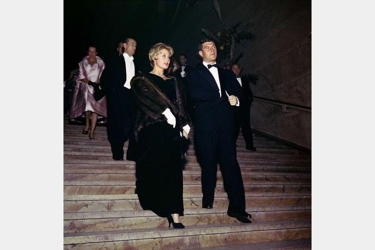 Michèle Morgan très Cendrillon avec Henri Vidal, 1959