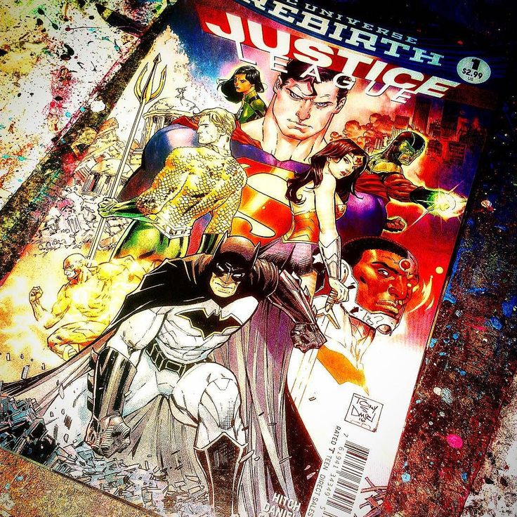 Next up... #JusticeLeague #1 #DCRebirth  Anyone else pumped for the #new Justice League?     #Writer - #BryanHitch  #Pencils - #TonySDaniel  #Inks - #SandyFlorer #Colors - #TomeuMorey  #Letters - Richard Starkings & #ComicCraft    #superman #batman #wonderwoman #aquaman #cyborg #greenlantern #greenlanterns #theflash #unitetheleague #simonbaz #jessicacruz #superheroes #comicartwork #dc #comics