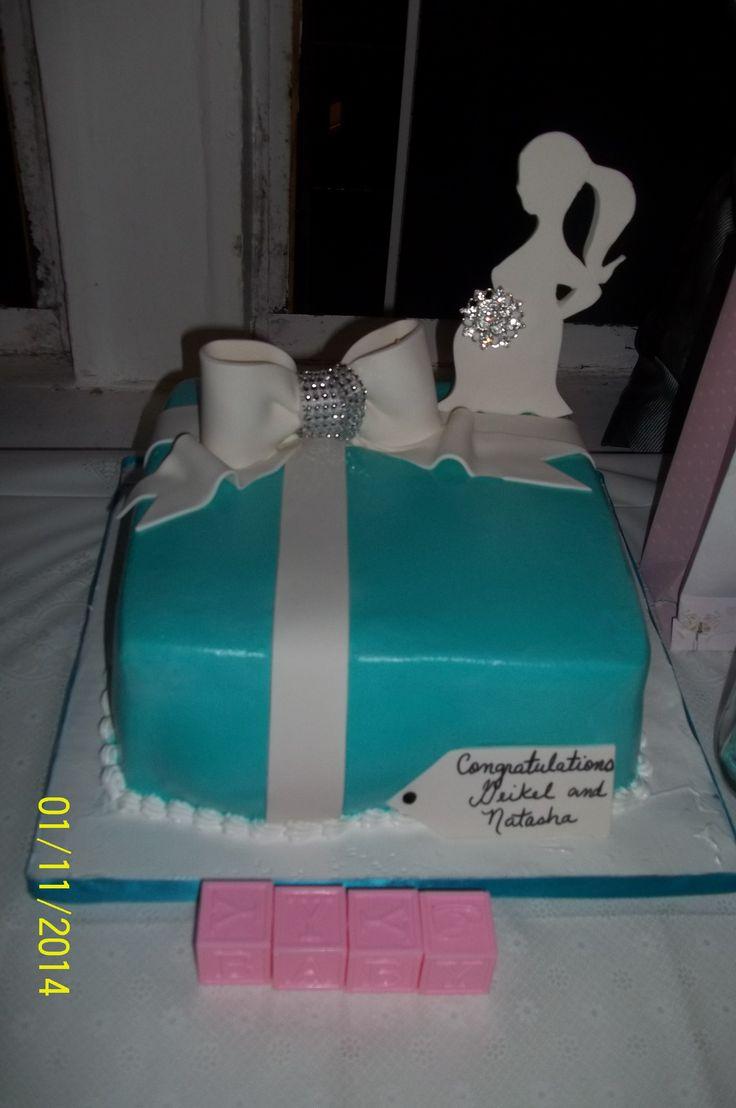 my baby shower tiffany co theme cake tiffany co baby shower