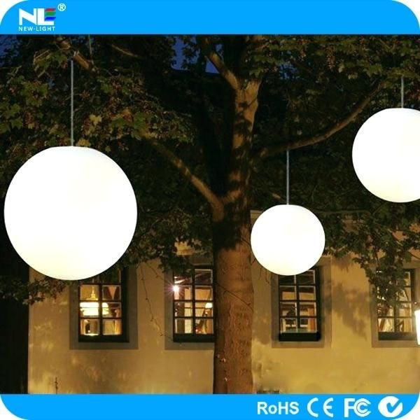 Outdoor Hanging Lights Outdoor Hanging Ball Lights Color Changing