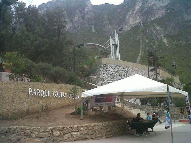 Parque Grutas de García, Monterrey,  N.L.