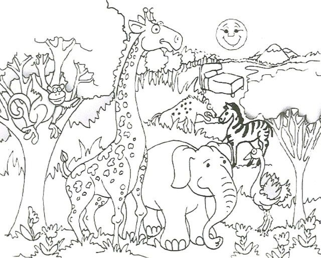 27 Exclusive Picture Of Zoo Animals Coloring Pages Zoo Animal