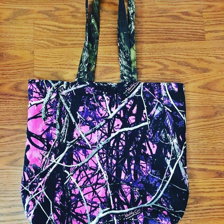 Muddy Girl Camo tote bag https://www.etsy.com/listing/519519993/muddy-girl-camo-tote-mossy-oak-camo