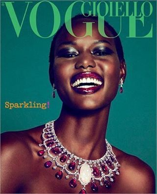 "4,213 mentions J'aime, 55 commentaires - Giovanna Engelbert (@bat_gio) sur Instagram : ""the beautiful smile of  @ajak_deng for  Vogue Gioiello September 2010 style by me Photogrpher…"""