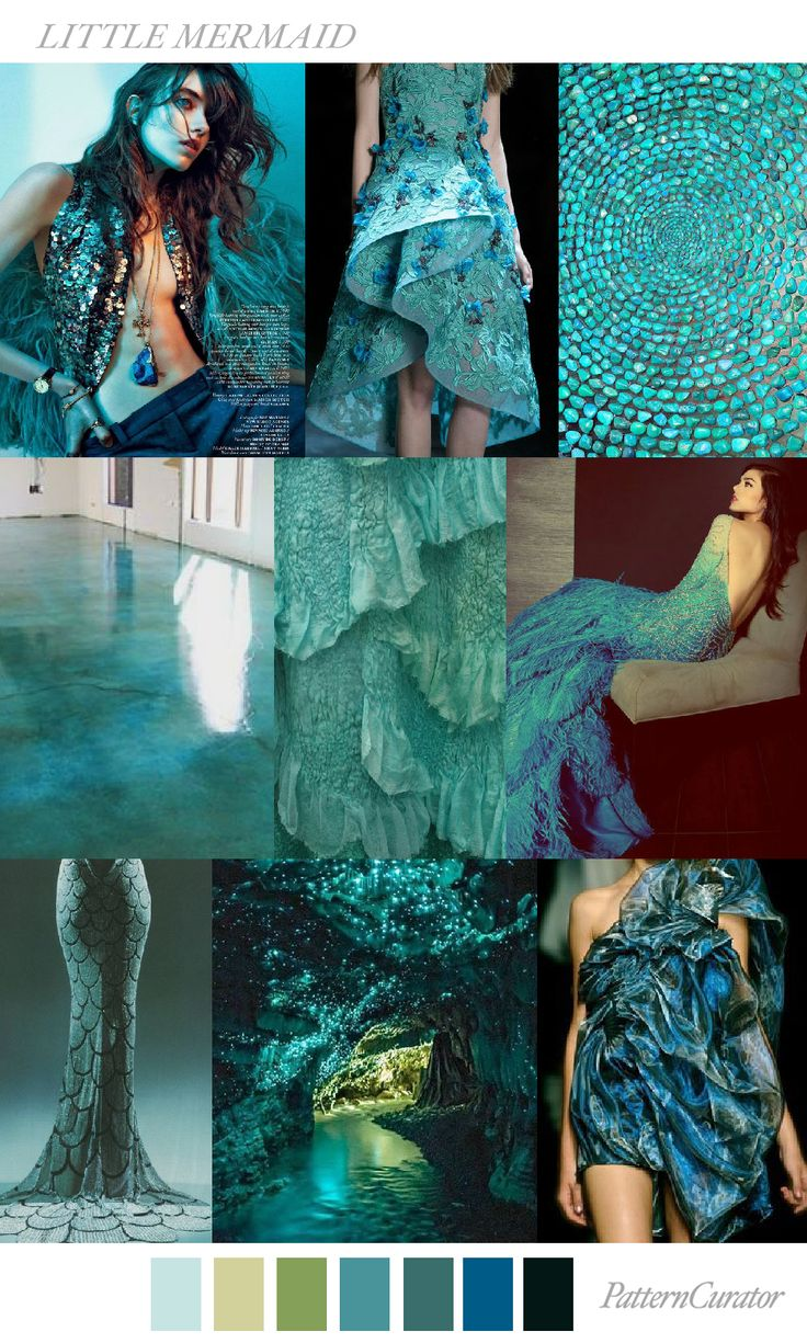 LITTLE MERMAID by PatternCurator                                                                                                                                                                                 More