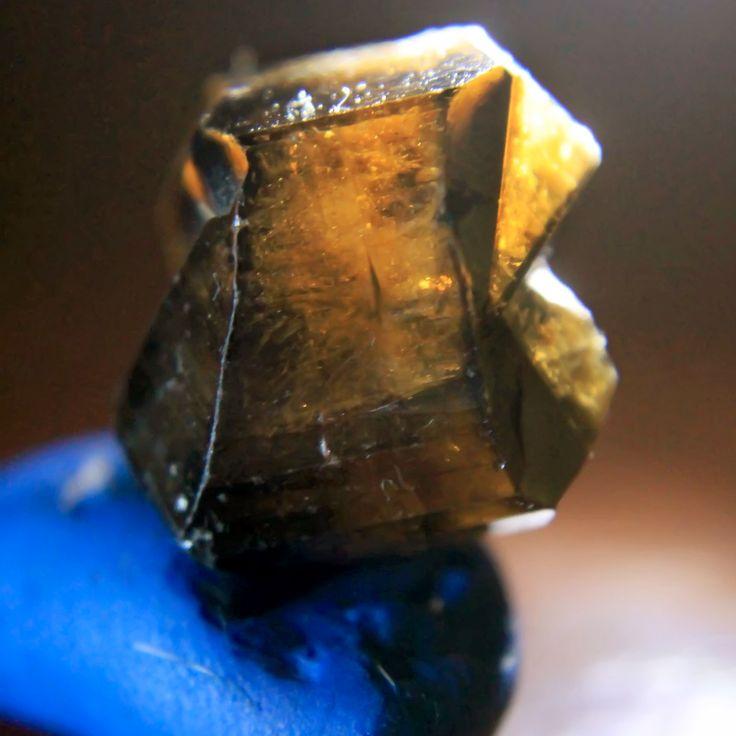 Cristal de Casiterita  Bolivia