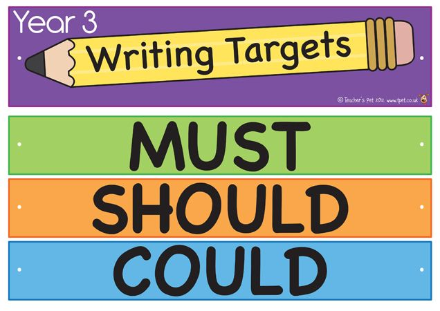 Teacher's Pet - Year 3 Literacy Writing Targets Display - FREE Classroom Display Resource - EYFS, KS1, KS2, APP, assessment, targets, pencils, levels
