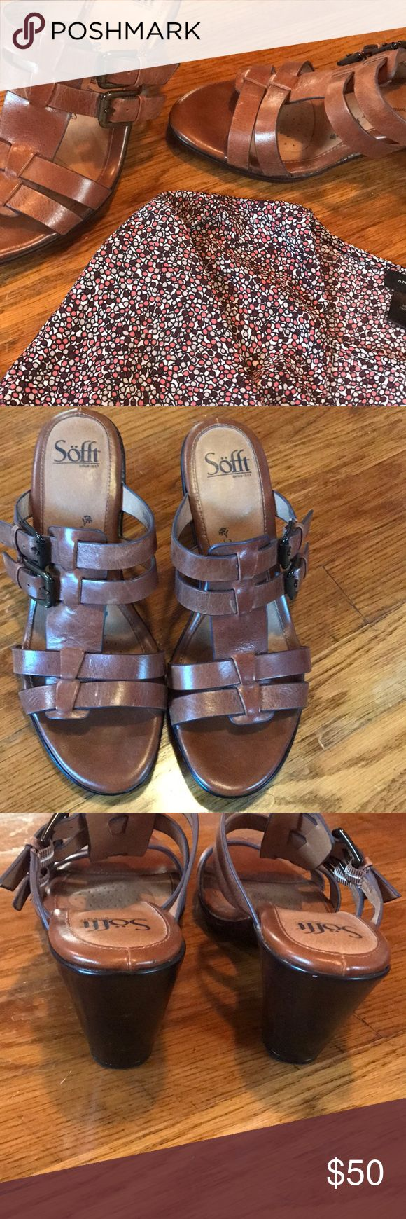 Söfft shoes Great condition only been worn a few times. I'm open to offers and have a smoke free home. The top in the first post is a size small and for sale. Sofft Shoes Heels
