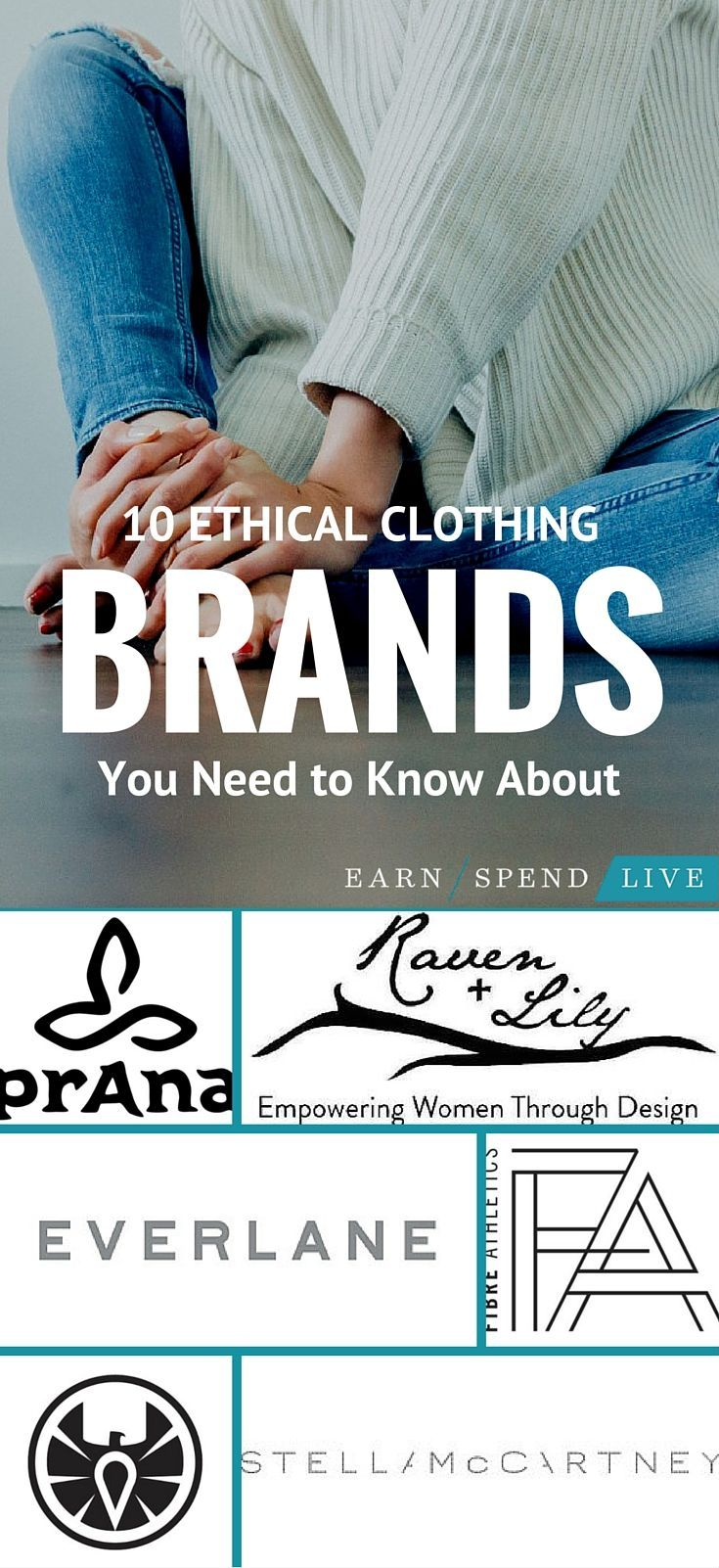 There are tons of ethical clothing brands out there that support fair trade and recyclable materials. Ethical clothing companies produce high quality items that will last you for years, and your business will help support the men, women, and children who rely on these companies for survival.