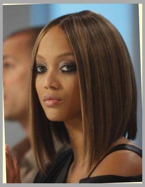 Outstanding 1000 Ideas About Tyra Banks Short Hair On Pinterest Shorter Short Hairstyles Gunalazisus