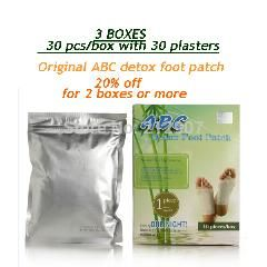 [ 25% OFF ] 30 Pcs Patch Original Abc Detox Foot Pads, Detox Foot Spa, Dody Detox