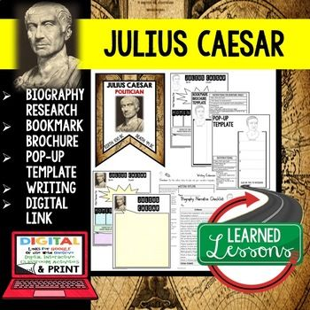 a research on the book julius caesar The paperback of the julius caesar by william  the play mainly centers around brutus that is why i could not put the book down until i had.