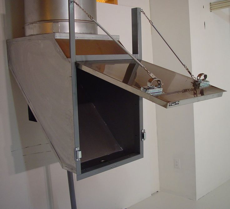 Can you still install a laundry shoot to the basement? Answer: Contrary to popular belief, laundry chutes are not a thing...