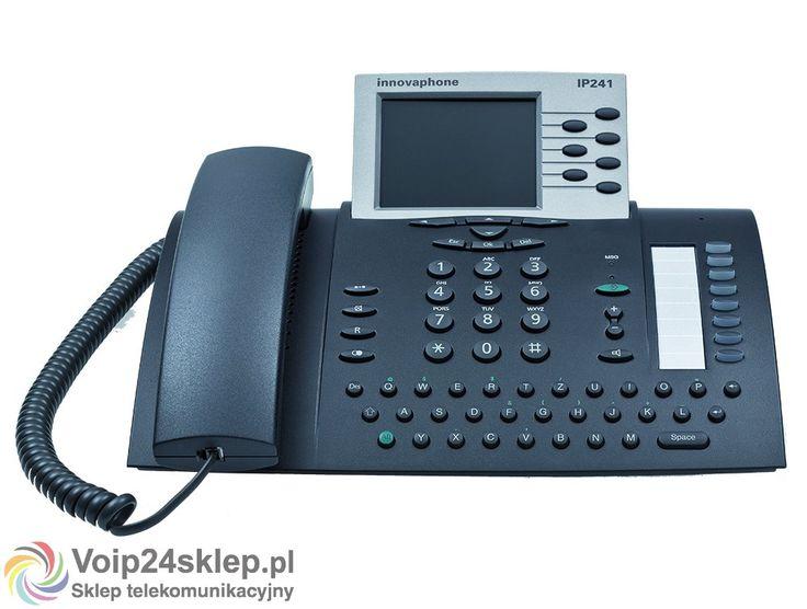 Telefon przewodowy VoIP innovaphone IP241
