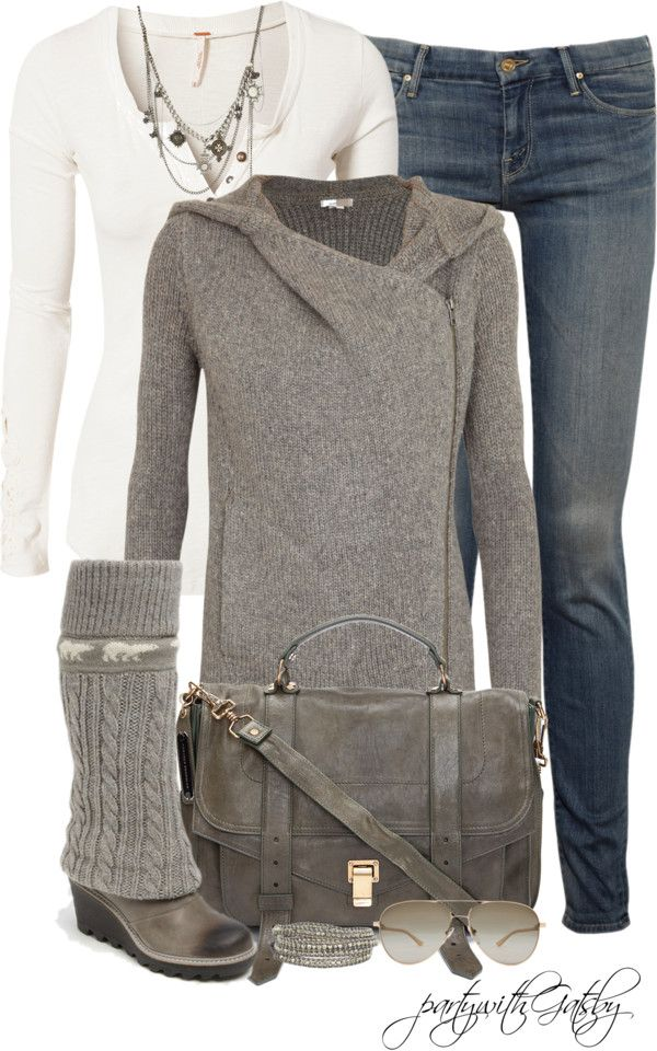 """Sweater Boots Contest (I)"" by partywithgatsby on Polyvore"